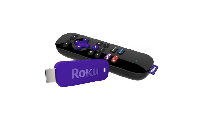 The streaming stick comes bundled with a remote that works over Wi-Fi.
