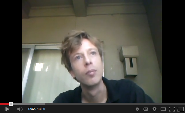 "In September 2012, Barrett Brown made a three-part video series about ""why I'm angry with the FBI,"" and was arrested hours later."