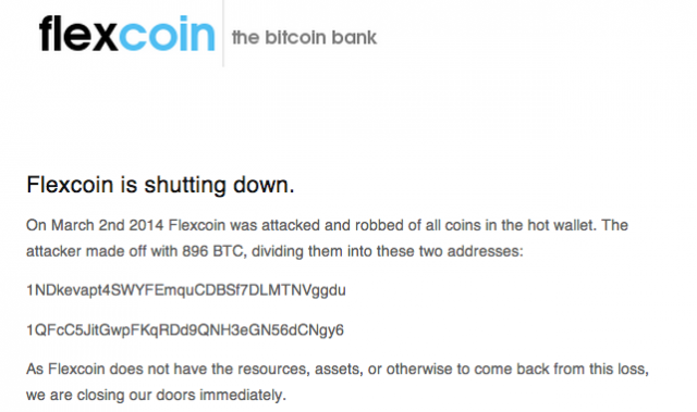 """Bank"" that claimed to solve Bitcoin's security problem robbed, shuts down"