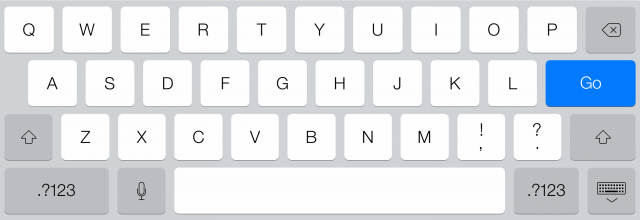 The iPad keyboards undergo a similar transition. The keyboard in iOS 7.0...