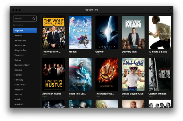 Meet the new Popcorn Time, same as the old Popcorn Time.