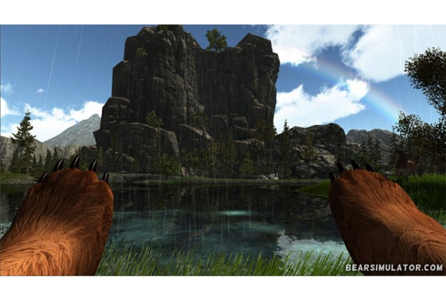 "Bear Simulator is ""like a mini Skyrim but you're a bear"""