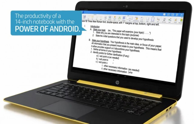 Android laptops? Leaked HP Slatebook 14 runs Google OS on a Tegra SoC