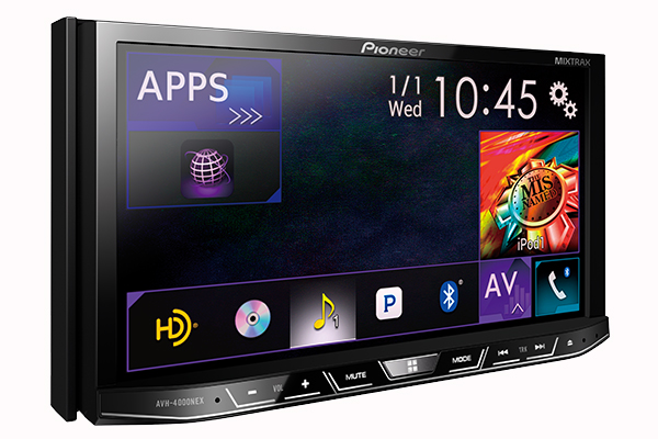 Pioneer's $700 AVH-4000NEX is on sale today and will get a CarPlay-compatible firmware update early this summer.