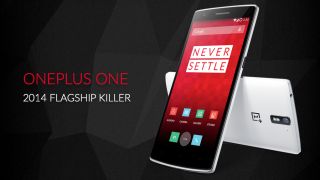 A typical example of OnePlus' very confident marketing materials.