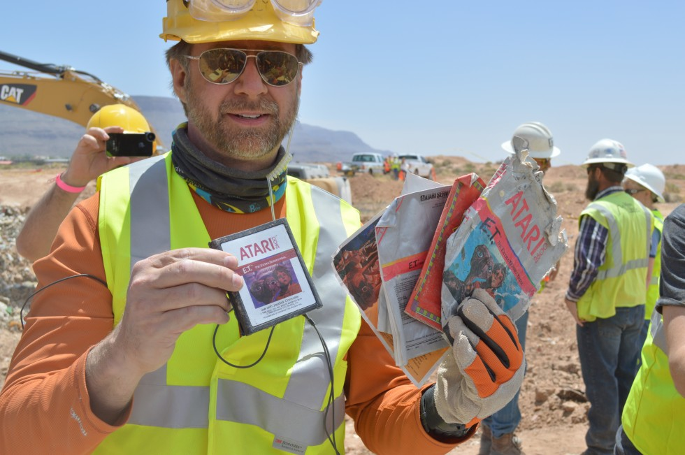 Landfill excavation unearths years of crushed Atari treasure [Updated]