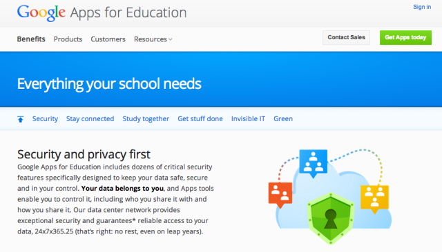 "Google ends ""creepy"" practice of scanning Gmail education apps"
