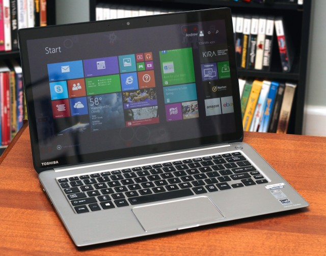 Toshiba's Kirabook is back, this time with a Haswell CPU.