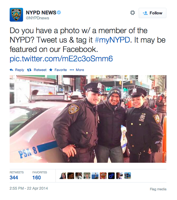 My Latest Article On Things: Lessons From NYPD Twitter Scandal: Careful When Asking