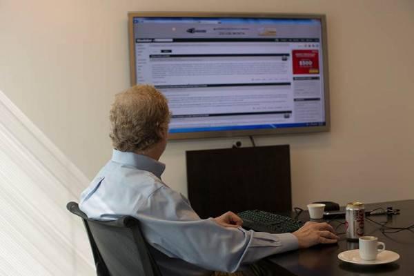 Intellectual Ventures founder Nathan Myhrvold reads Slashdot.