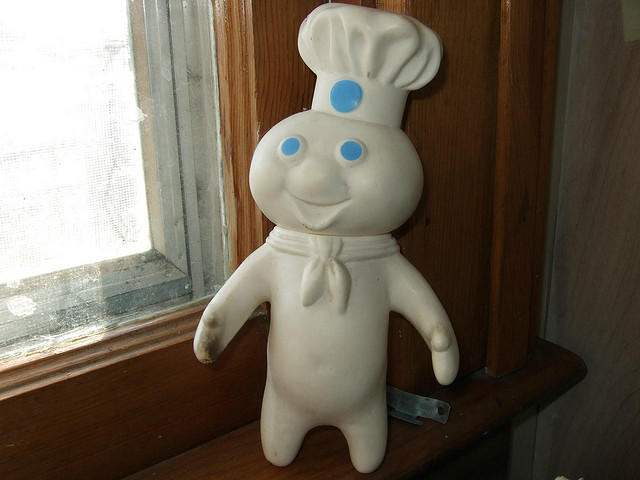 Who would want to criticize the Pillsbury doughboy?