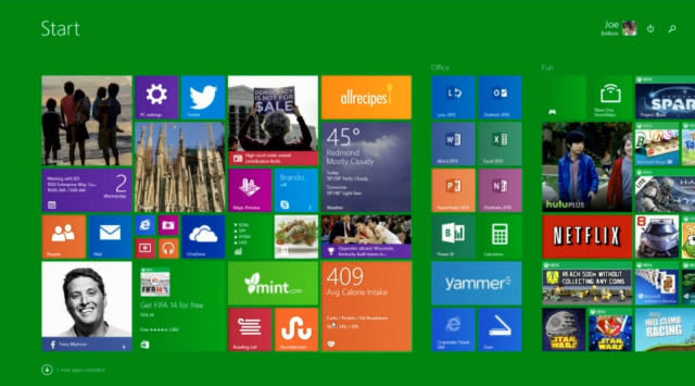 The new Windows 8.1 update makes several changes aimed at mouse and keyboard users.