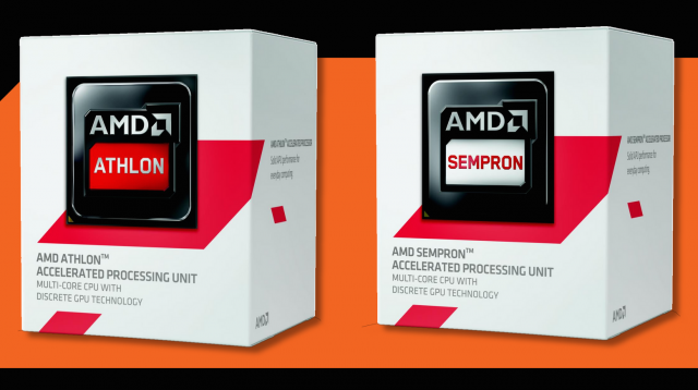 New flavors of Athlon and Sempron promise top power draws of 25W and enough power to play modern games in 1080p. No promises of a free pony, however.