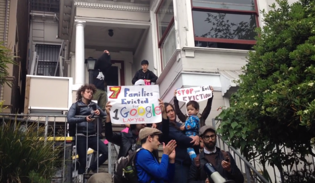 SF housing protests get personal as another Googler is confronted at home