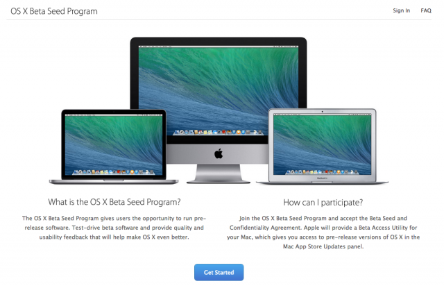 "Apple's ""OS X Beta Seed Program"" is offering an early build of the OS X 10.9.3 update to anyone with an Apple ID who signs up."