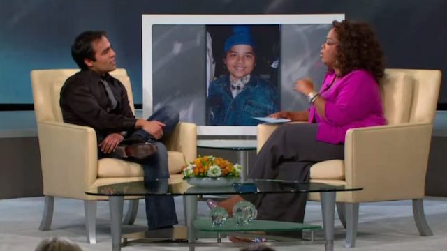 Chahal in an interview with Oprah Winfrey, one year before he was brought up on domestic abuse charges.