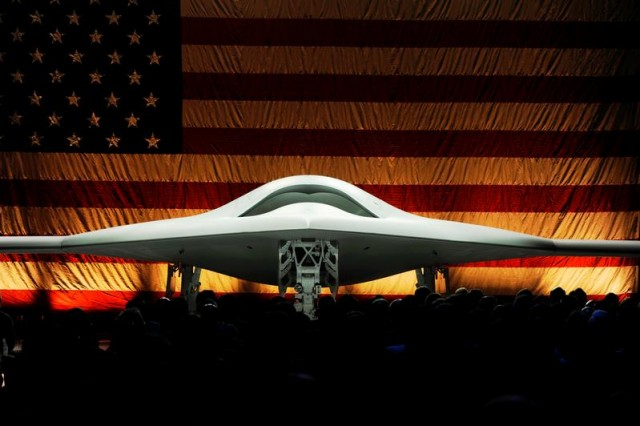 "The X-47B at its unveiling ceremony in December 2008. The Navy is preparing to start the next round of competition for its successor—a drone capable of dropping 500-pound bombs and acting as a robotic ""wingman"" to fighter pilots."