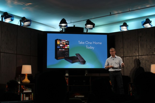 Amazon reveals Fire TV video streaming box and gaming controller