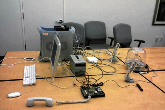 The nondescript meeting room in which Steve Jobs, Greg Christie, and others discussed the first iPhone prototypes.