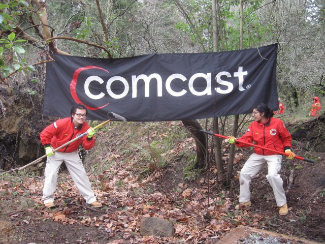 This here is Comcast territory—you best be on your way.