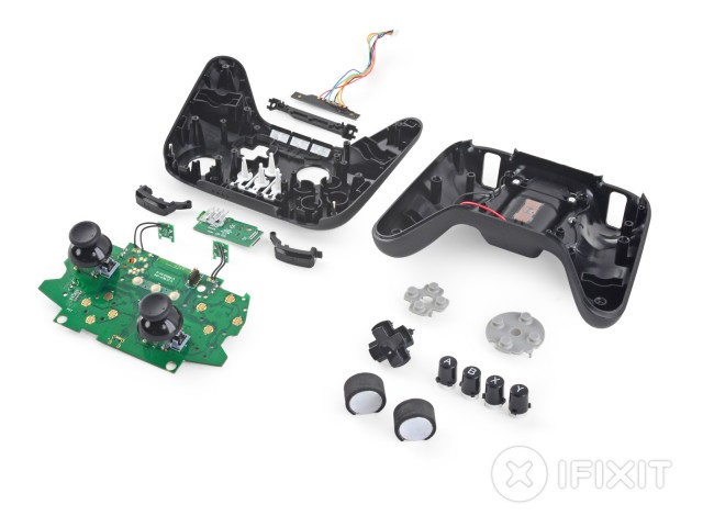 The Fire TV's gamepad.