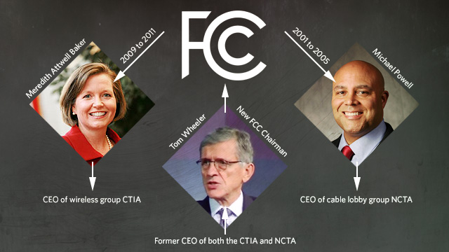 The FCC's revolving door doesn't always lead to the same outcome.