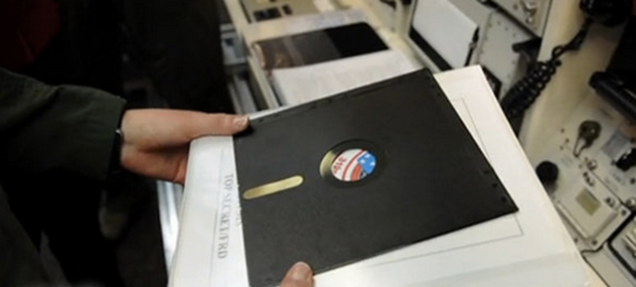 60 Minutes shocked to find 8-inch floppies drive nuclear deterrent