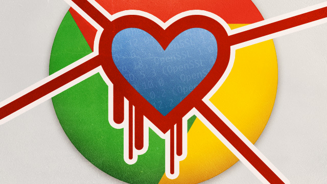 "Google Chrome protection for Heartbleed-hacked sites called ""completely broken"""