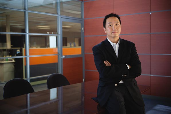 "Newegg Chief Legal Officer Lee Cheng mourns the lack of patent trolls willing to challenge him: ""I never get invited to parties anymore."""