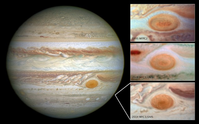 Great Red Spot not doing so great