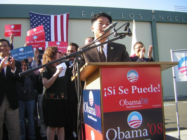Six years ago, State Sen. Ted Lieu (D-Torrance) was a California assembly member who campaigned for then-candidate Barack Obama.