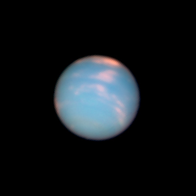 Hubble's Neptune Anniversary Pictures.