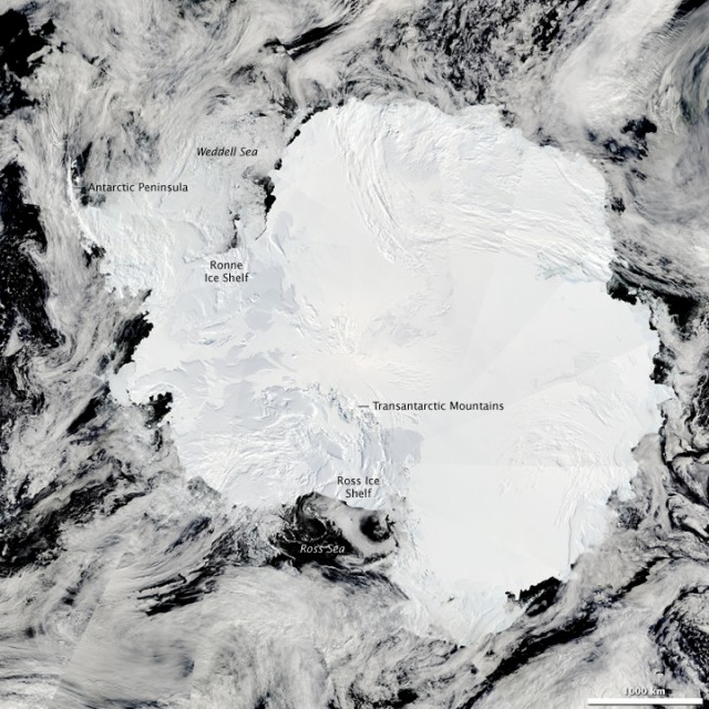 Across Antarctic, other glaciers hold back 4 meters of sea level rise