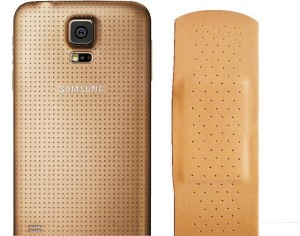 The Galaxy S5 Band-Aid.