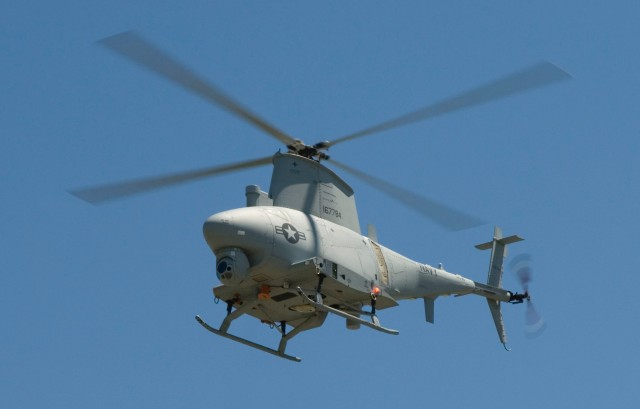 The MQ-8B Fire Scout, the Navy's robotic helicopter drone, is getting a unusual virtual cockpit based on Linux.