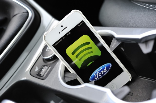 Last year, Ford added Spotify support to its SYNC infotainment system.