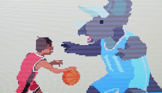 In <em>Super Time Force</em>, travel in time to stop an asteroid from destroying the dinosaurs so that somebody can finally stop Lebron James in the paint.