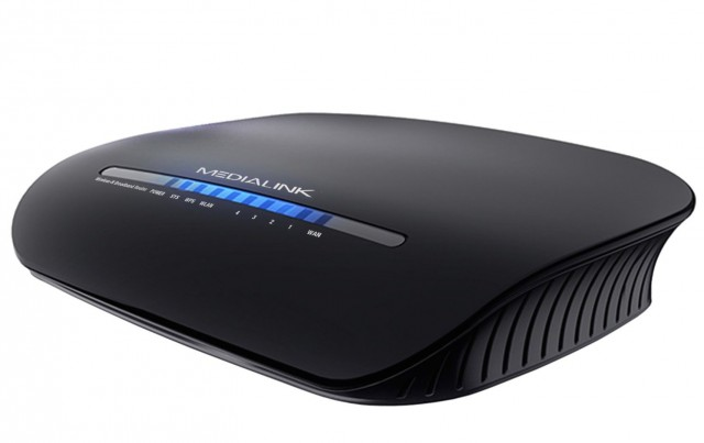 The Medialink router that was reviewed.