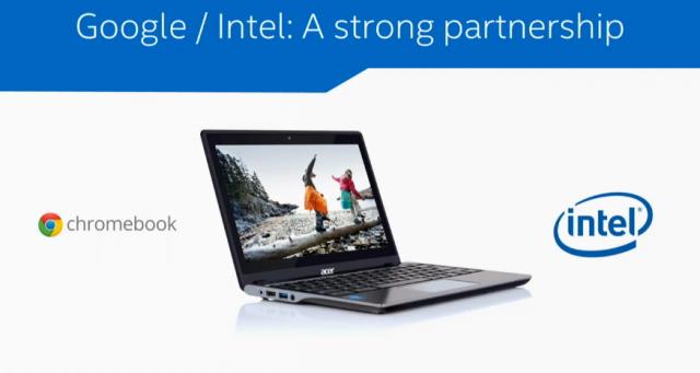 Intel <3 Chromebooks.