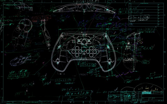 Valve attached this controller sketch image to its announcement. Go ahead, pick it apart for clues about new hats coming to <em>Team Fortress 2</em>!