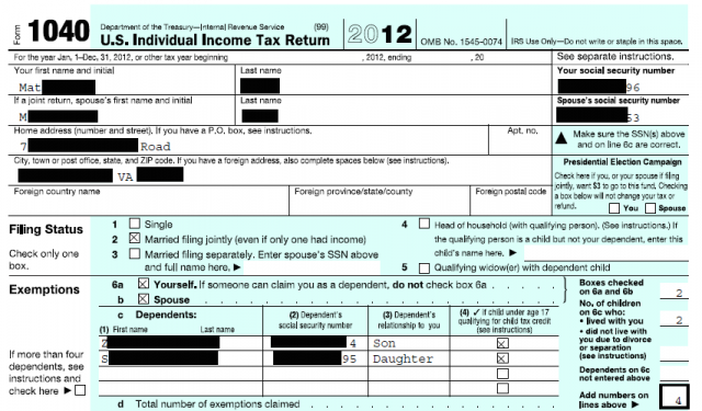 Tax return uncovered due to vulnerability affecting shared links to documents.