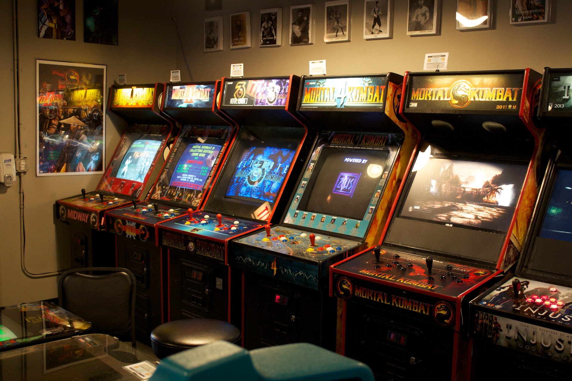 All White Bedrooms A Visit To Galloping Ghost The Largest Video Game Arcade