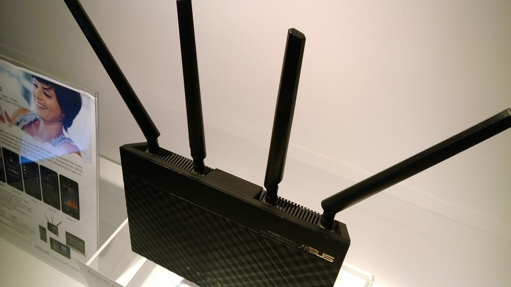 Asus' forthcoming router supporting MU-MIMO.