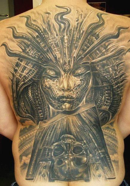 Gieger Tattoos Designs: H.R. Giger, The Man Who Created Alien's Alien, Dies At 74