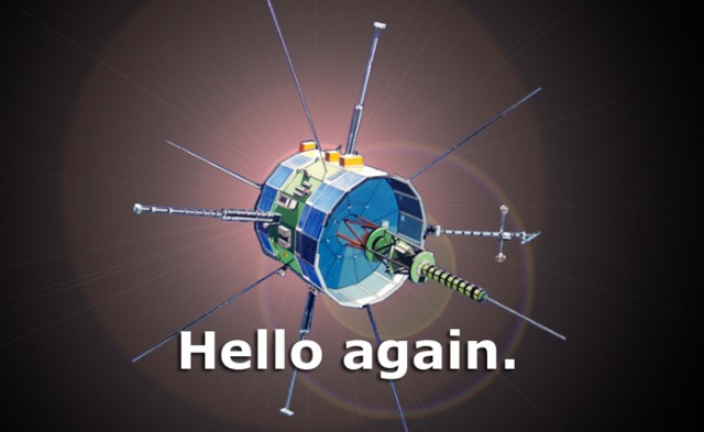 ISEE-3 spacecraft makes first Earth contact in 16 years