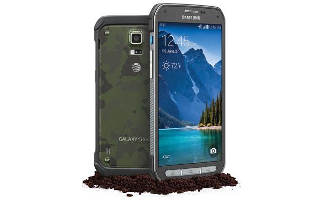 AT&T debuts ruggedized Galaxy S5 Active