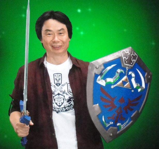 All right, Mr. Miyamoto, if you'd just step into the cloning machine please. That's right, watch your step...