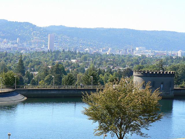 Reservoir 6 in Portland.