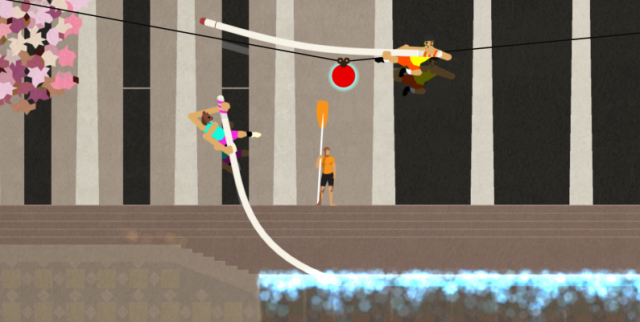 <em>Super Pole Vaulters</em>, from the creator of gonzo game sensation <em>QWOP</em>, recreates the age-old battle of man versus bear versus ball versus pole.