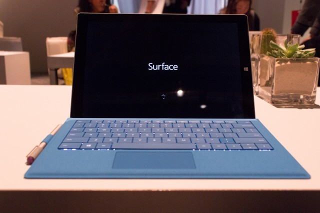 The Surface Pro 3, which <em>was</em> launched.